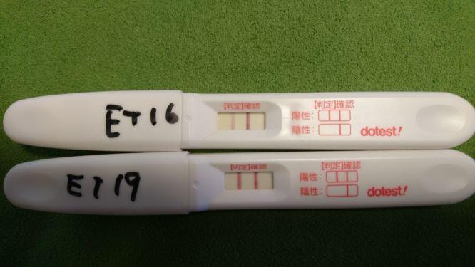 フライング 胚移植10日目 胚移植後のフライング…陰性
